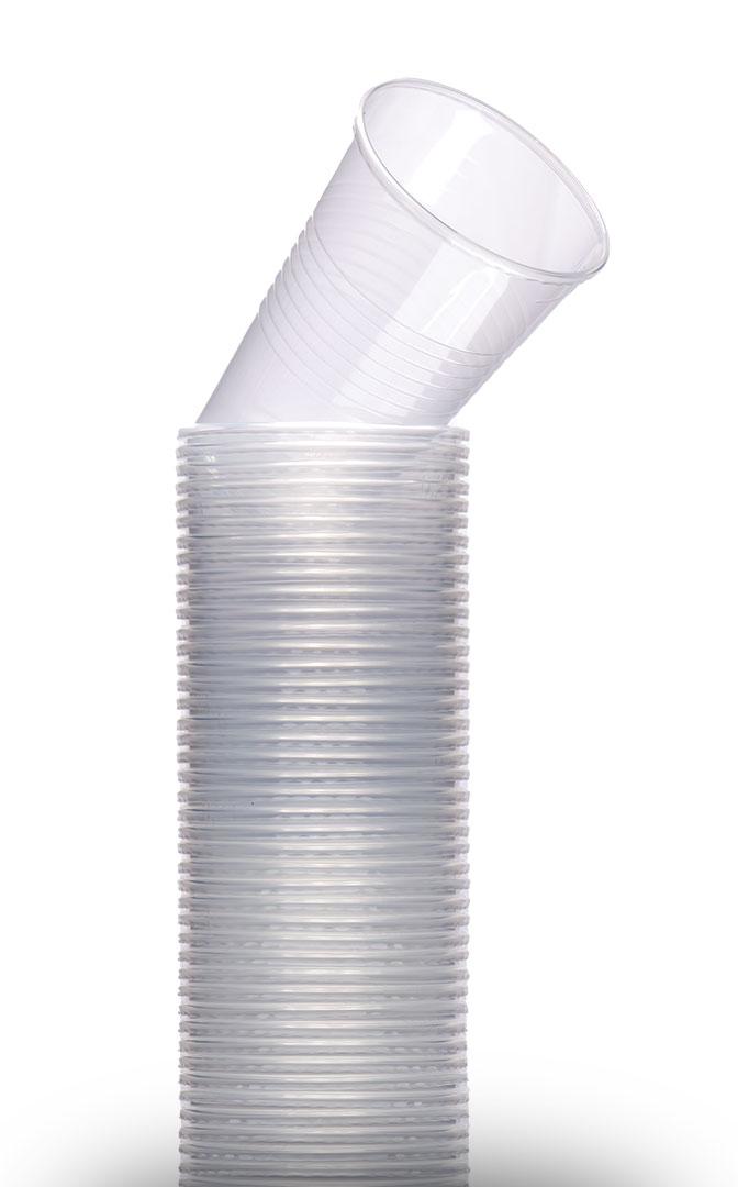 200ml plastové poháre
